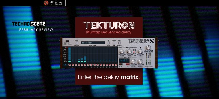 Tekturon – Multitap Sequenced Delay VST – Gear Review