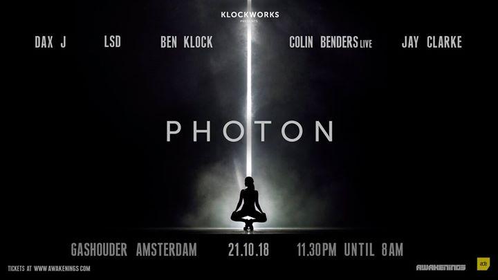 Awakenings x Klockworks presents Photon