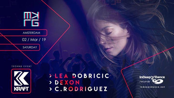 KRAFT Amsterdam | Lea Dobricic, Saturday 02 March 2019, Melkweg