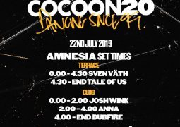 Sven Vath Presents Cocoon 20 years in Ibiza @ Amnesia